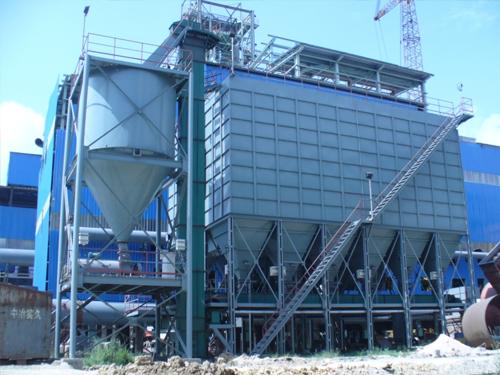 20吨燃烧锅炉除尘器
