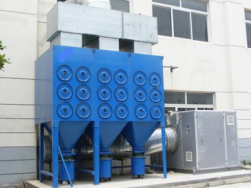 沉淀式滤筒除尘器